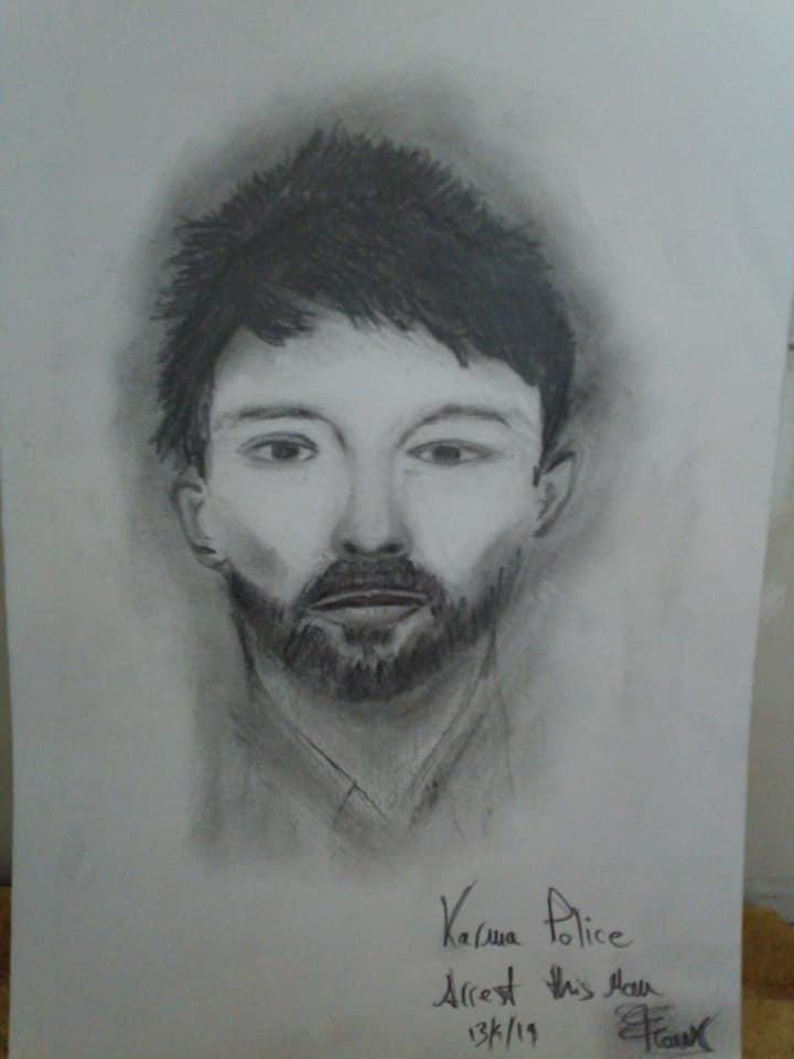 Thom Yorke by frank19